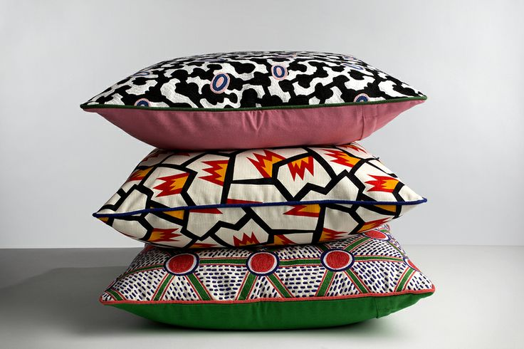 Nathalie du Pasquier Fabric Cushions | Wrong for HAY | Norway Designs
