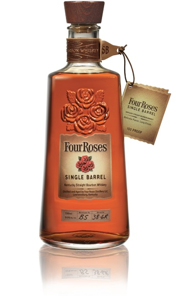 Four Roses Bourbon. One of my most favorite Bourbons. Very smooth and gentle.  Drink neat or with a splash of water