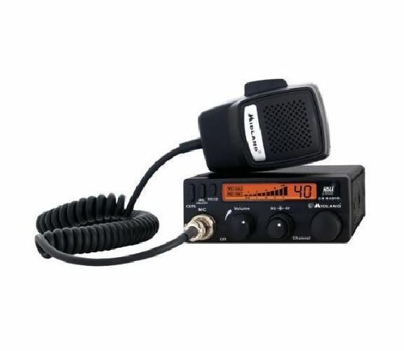 Midland Mobile 40 Channel 4 Watt CB Radio with Mic and Weather Scan Technology #Midland