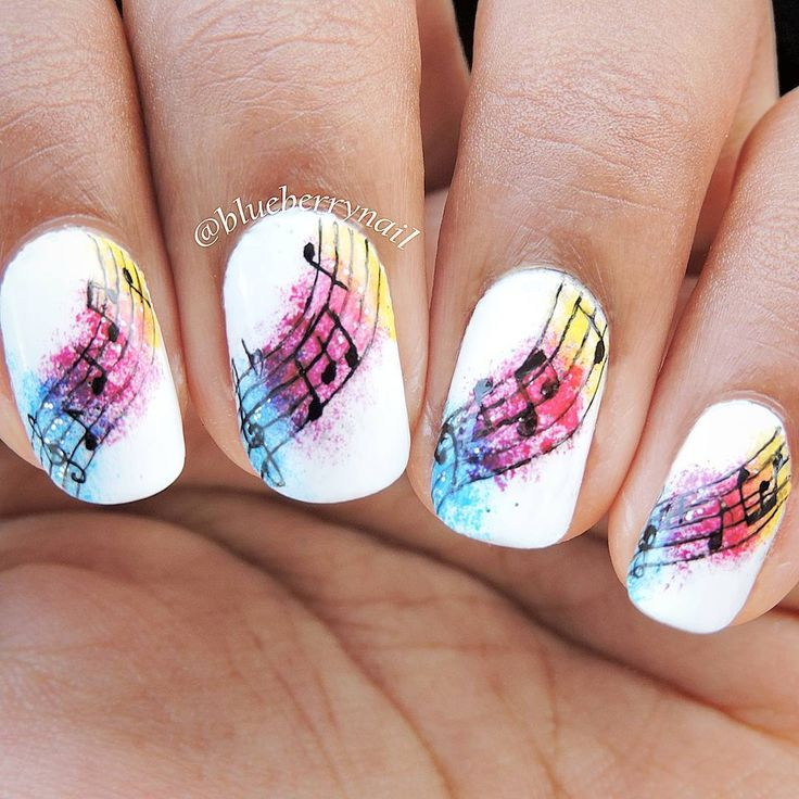 Your nails should reflect your personality and if you're planning a night  out to a music event, these music nails reveal your love for music. - 47 Best Nails Images On Pinterest Nail Scissors, Nail Art Ideas