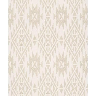 Washington Wallcoverings 56 sq. ft. Beige Southwestern Print Wallpaper-714906 - The Home Depot
