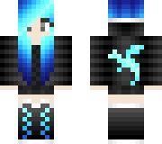 Cute Blue Hair Girl <3