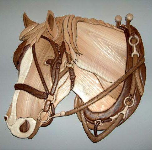 Intarsia Patterns and Scroll Saw Patterns by Garnet Hall - SawBird.com