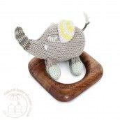 Finn + Emma Teething Ring - Piper the Elephant http://www.naturalbabyshower.co.uk/shop-by-brand/finn-emma.html