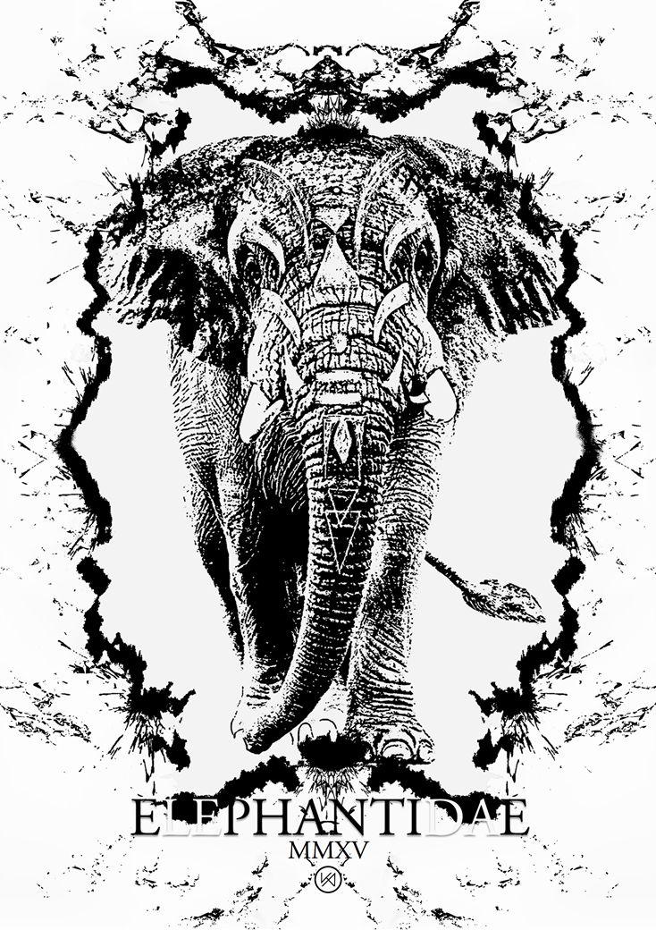 Billede af Elefant plakat - Pluto Dardanos
