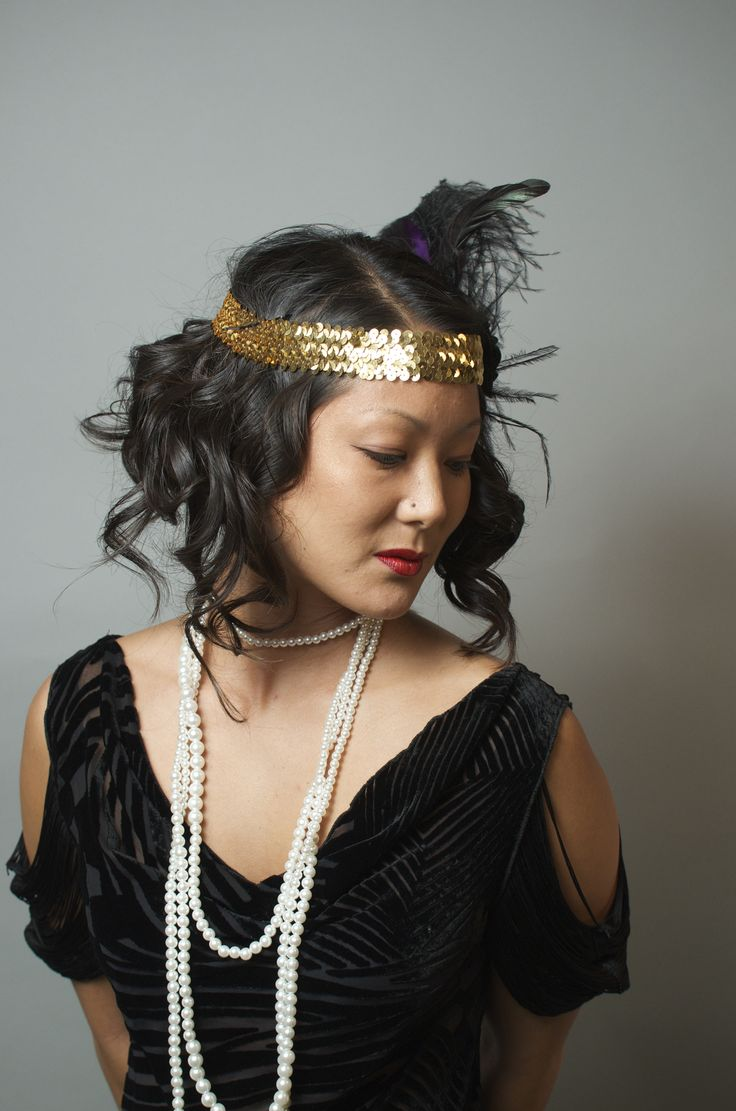Su, Prohibition Party.  #hair #updo #prohibition #greatgatsby #flapperstyle