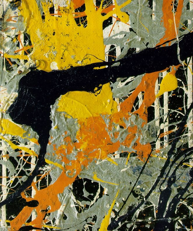 jackson pollocks number 1 essay Compare and contrast essay of the following artworks: american gothic (1930) by grant wood, and number 1/lavender mist (1950) by jackson pollock.