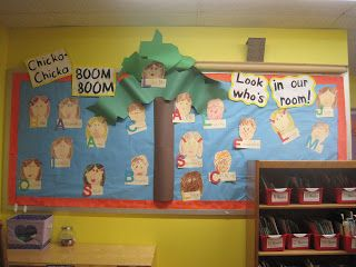 Mrs. Jones's Kindergarten: Chicka Chicka Boom Boom!