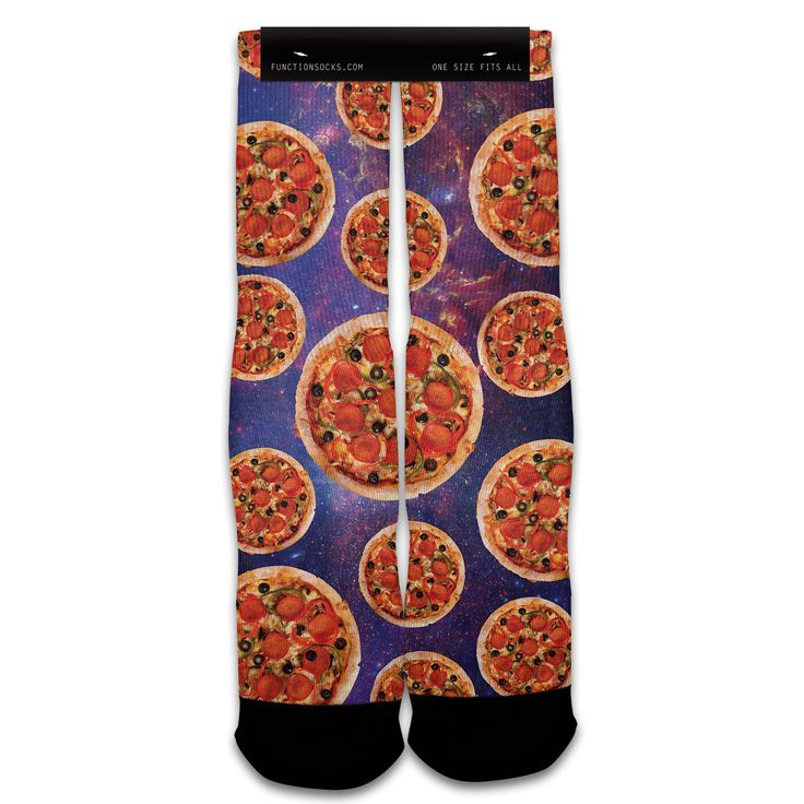 Function - Galaxy Pizza Fashion Socks