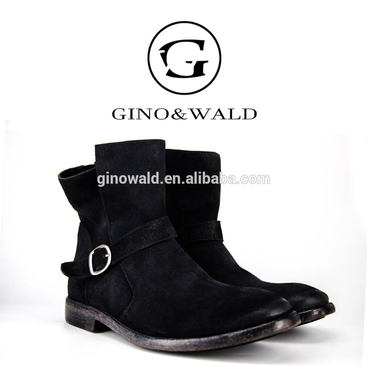 Italian hotsale high cut men style leather cowboy boots for men