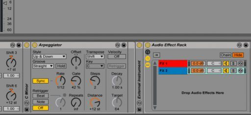 Integrating External Instruments With Racks in Your Ableton Live Rig