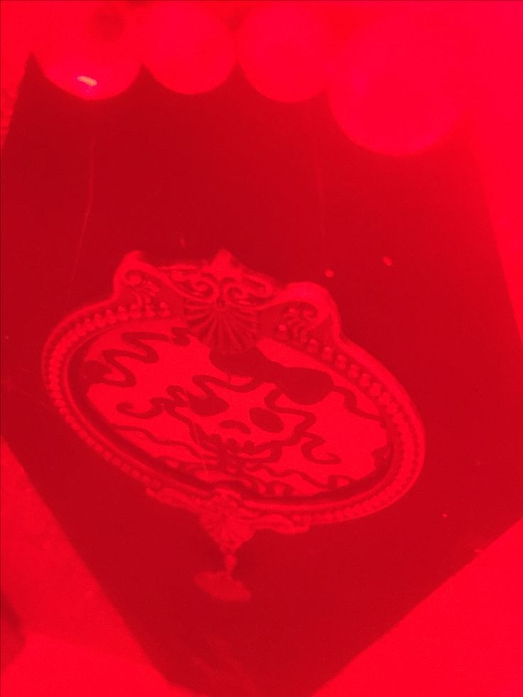 Red Filter - Romantic, rhinestones look like lights.