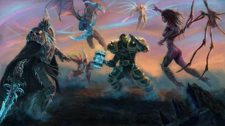 Heroes of the Storm by Omar-Atef.deviantart.com on @deviantART
