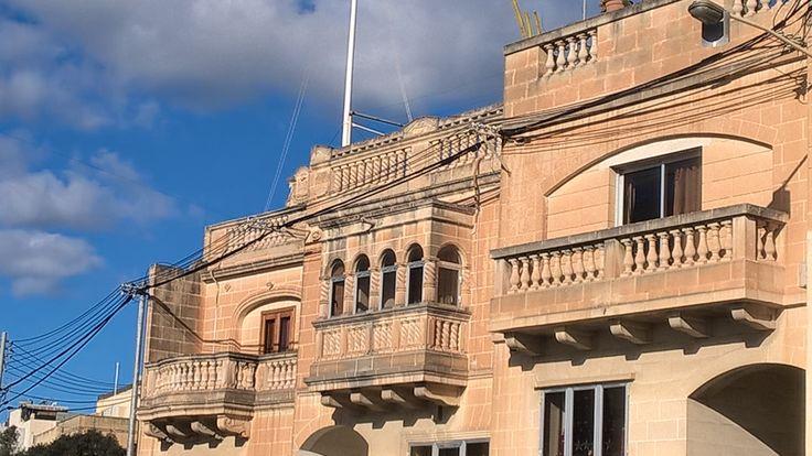 Maltese windows and balcony