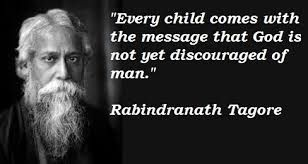 Risultati immagini per rabindranath tagore