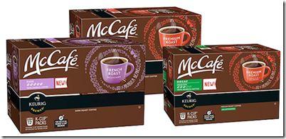 FREE Box of McCafe Coffee K-Cup Samples