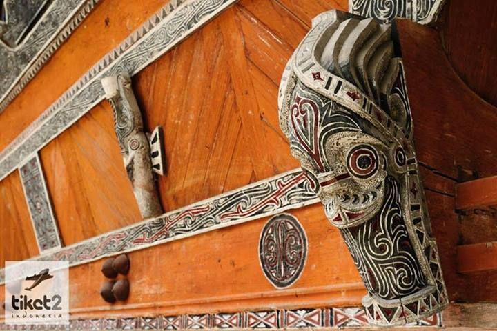 Traditionla Carving  Lake Toba, North Sumatera, Indonesia
