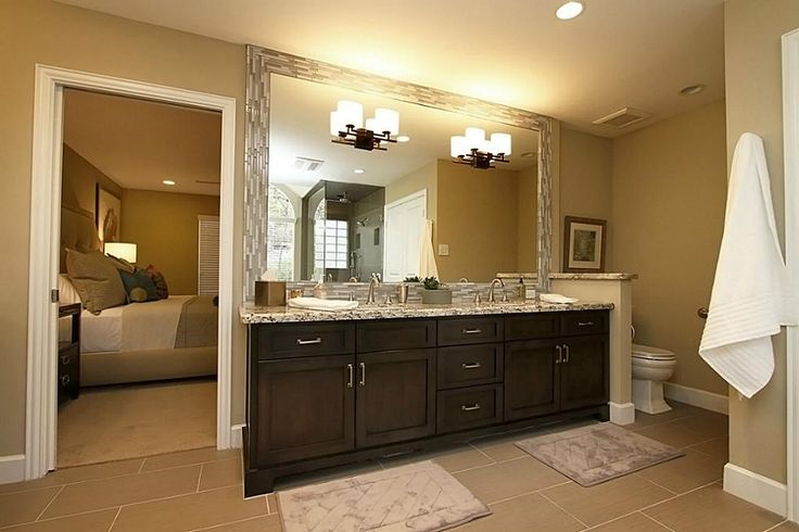 17 best images about bathrooms on pinterest contemporary for Updated master bathrooms