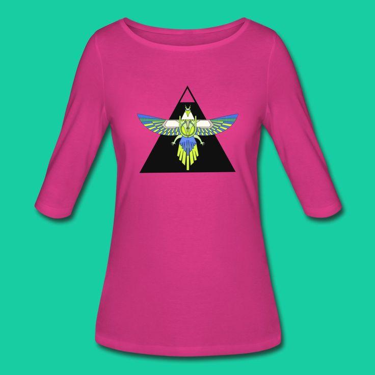 Flight of Horus 1 - Women's 3/4 Sleeve Shirt