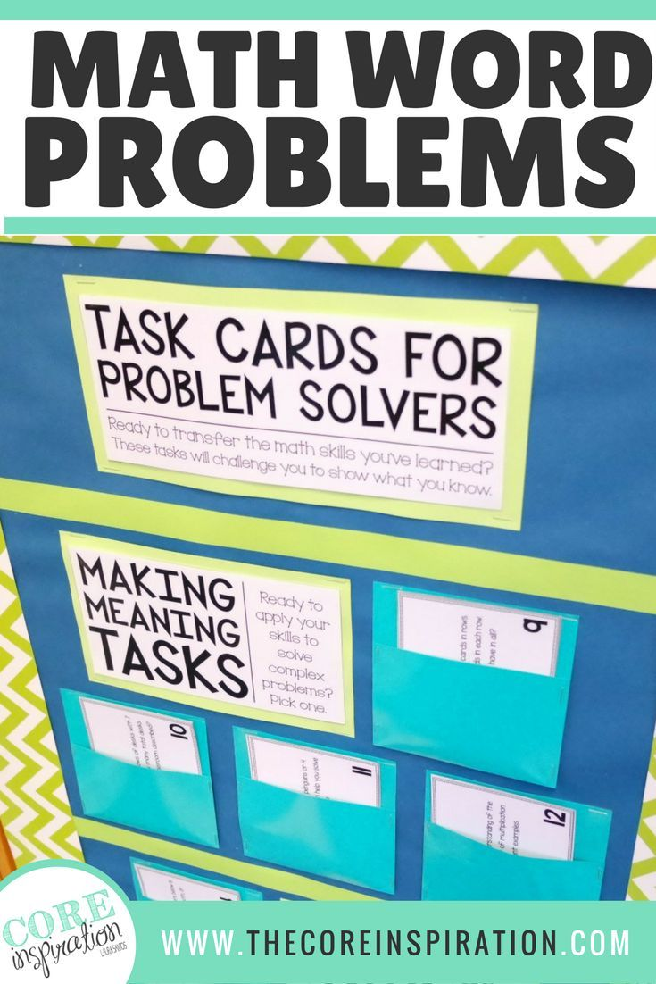 Not your ordinary task cards. These are perfect for my third graders. Our math adoption does not have many higher order word problems and these are the perfect supplement. Hundreds of word problems to choose from, easy to prep, perfect for developing stud