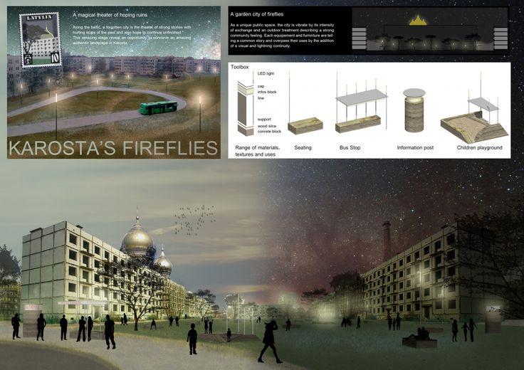 """Architecture competition """"War Port Microtecture"""" honorable mention - Du Pierre-Alain / Poisblaud Timothée"""