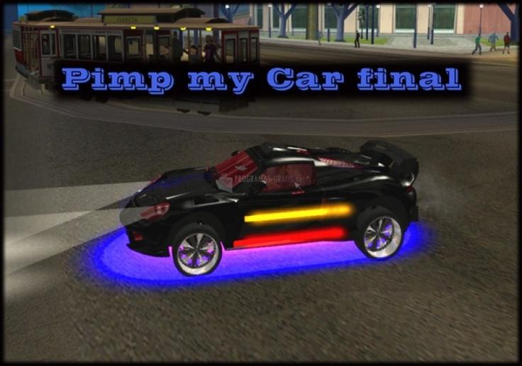Mod para tunear los coches en GTA San Andreas http://pimp-my-car-gta-san-andreas.programas-gratis.net/