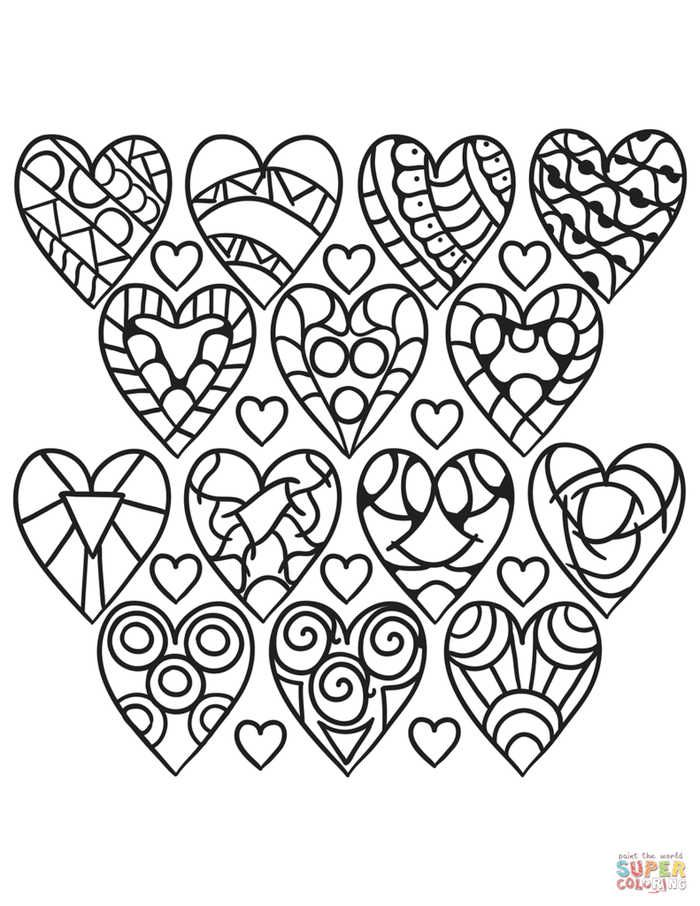 Heart Coloring Pages Printable Free Coloring Sheets Heart Coloring Pages Quote Coloring Pages Printable Coloring Pages