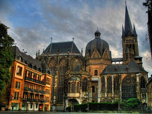 Aachen Cathedral. Aachen, Germany.