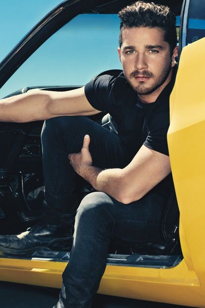 Shia LaBeouf holy crap he is yummy