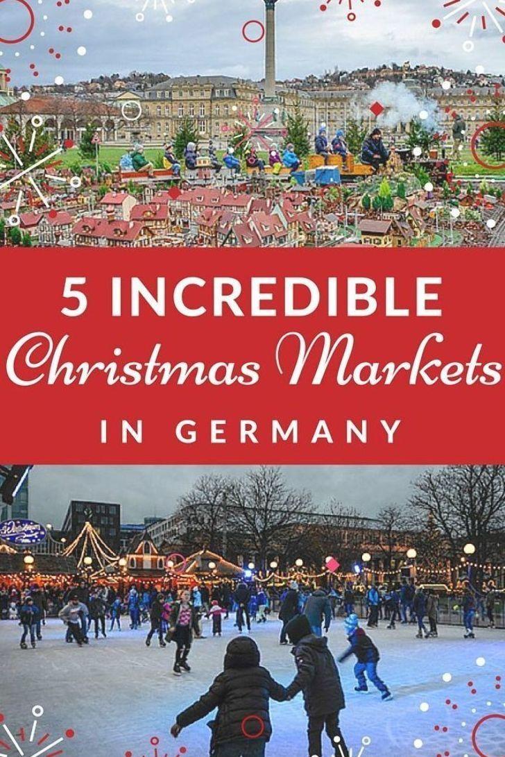 Top 5 German Christmas Markets in Stuttgart, Germany in