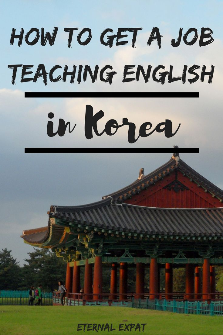 How to get a job teaching English in Korea & if it's the right job for you | Eternal Expat