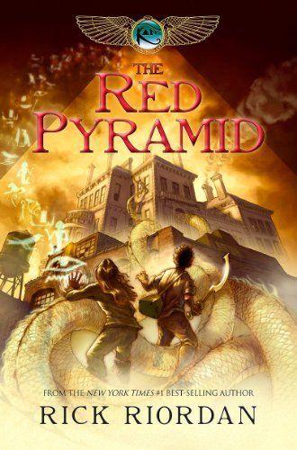 The Kane Chronicles, Book One: The Red Pyramid by Rick Riordan, http://www.amazon.com/dp/B003E8P9G0/ref=cm_sw_r_pi_dp_1xCYsb1AX31WR