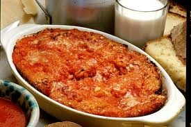 Mazzamurru (stale bread with tomato sauce)