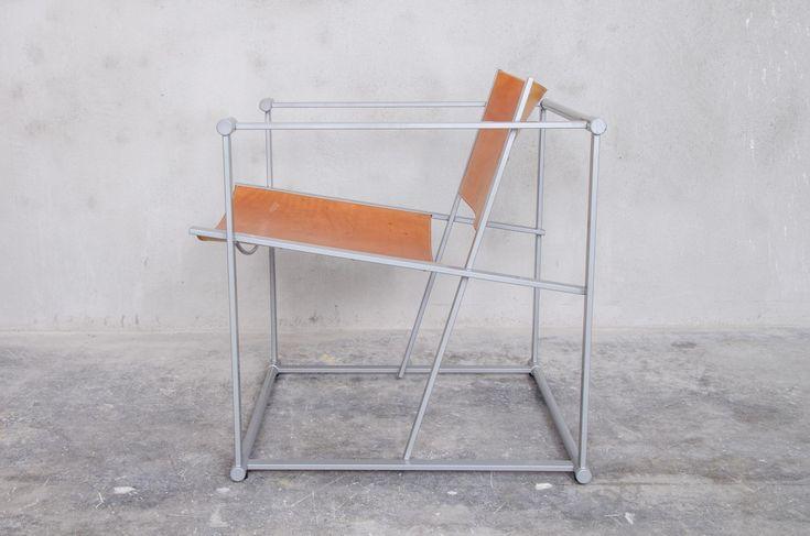 Vintage FM62 Lounge Chair by Radboud van Beekum for Pastoe