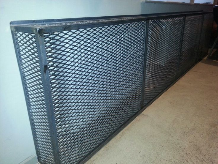 Industrial radiator cover