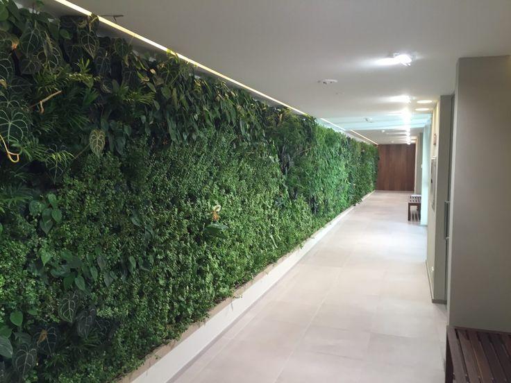 Indoor Vertical Garden _ Hotel Giardino Marling (Marlengo - BZ - Italy)
