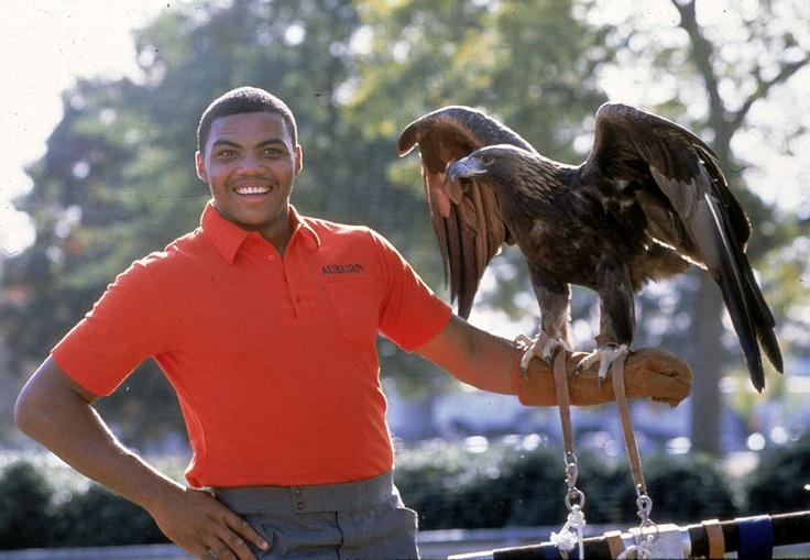 Barkley and the War Eagle. | Vintage Basketball ...