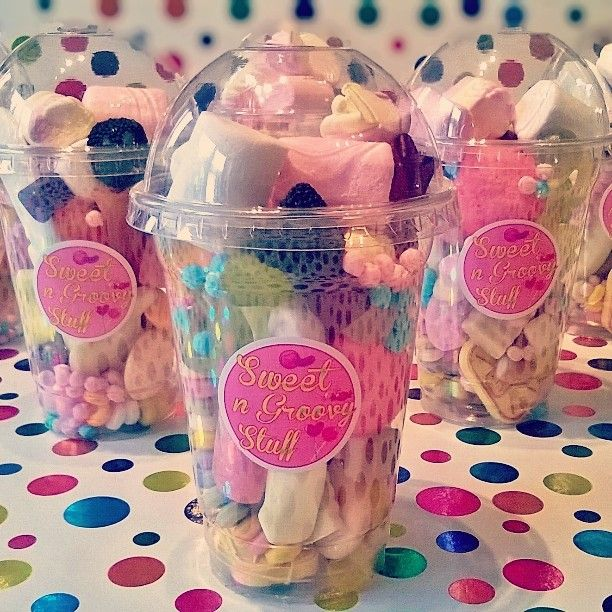 Sweet smoothies make a great alternative to the party bag #thankyou #party #sweets #candy #yummy #treat #mallow #jelly #haribo #rainbow #sweetcone #sweetngroovystuff #manchester #Tameside www.facebook.com/sweetngroovystuff