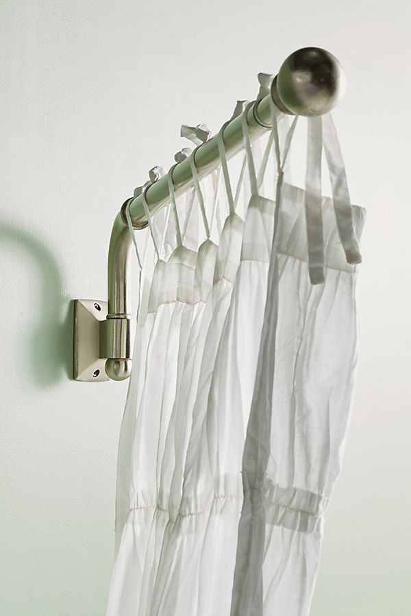 Swing Arm Curtain Rods, Swing Out Shower Curtain Rod