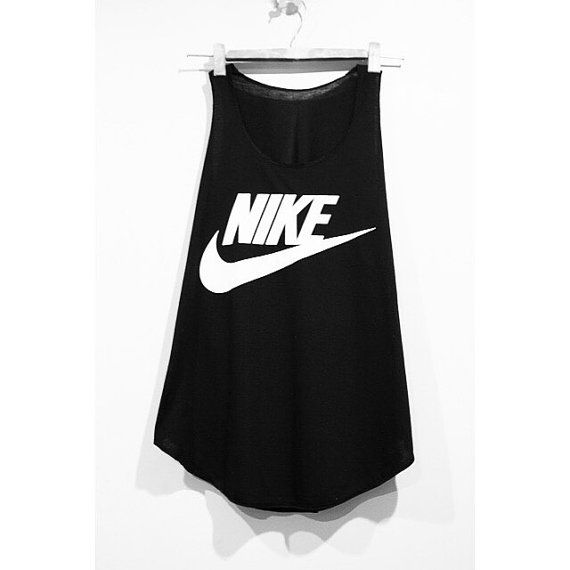 Nike Tank Top Minimal Fitness Sport Clothing by pingypearshop