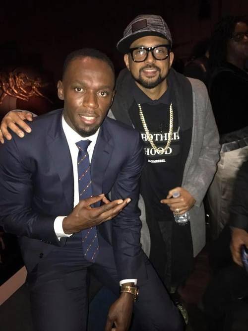 I Am Bolt World Premiere in London. Blessed. Usain Bolt, November 2016