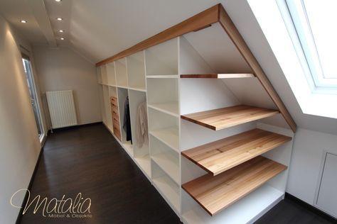 Einbauschrank, Dachschräge, Schiebetüren, Kleiderschrank, Schlafzimmerschrank