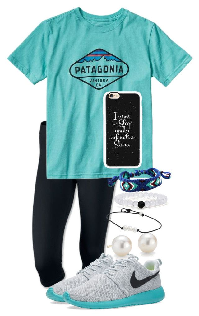 """Untitled #77"" by samhainessss ❤ liked on Polyvore featuring NIKE, Patagonia, Blue Nile, American Eagle Outfitters, Casetify, women's clothing, women's fashion, women, female and woman"