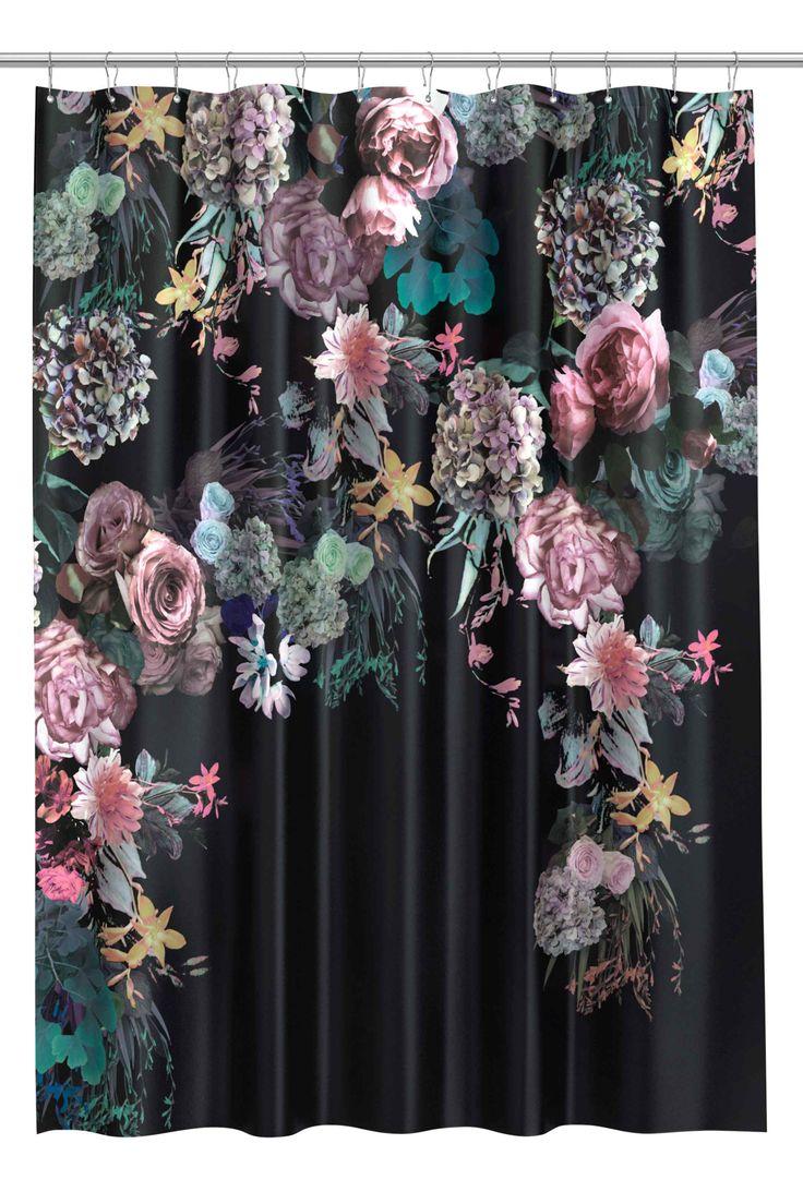 H&M - Tenda doccia con stampa fiori
