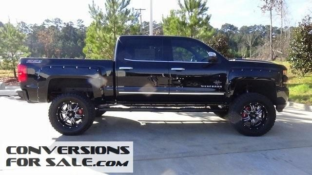 Lifted 2016 Chevy Silverado 1500 LTZ Black Widow Louisiana