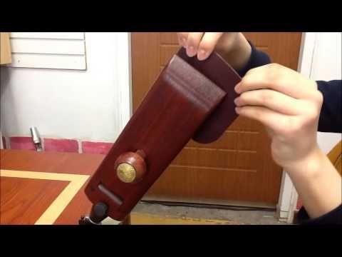 ▶ Leathercraft Tool ELFITA: Table Pony, 엘피타: 탁상 각도 조절 포니 - YouTube
