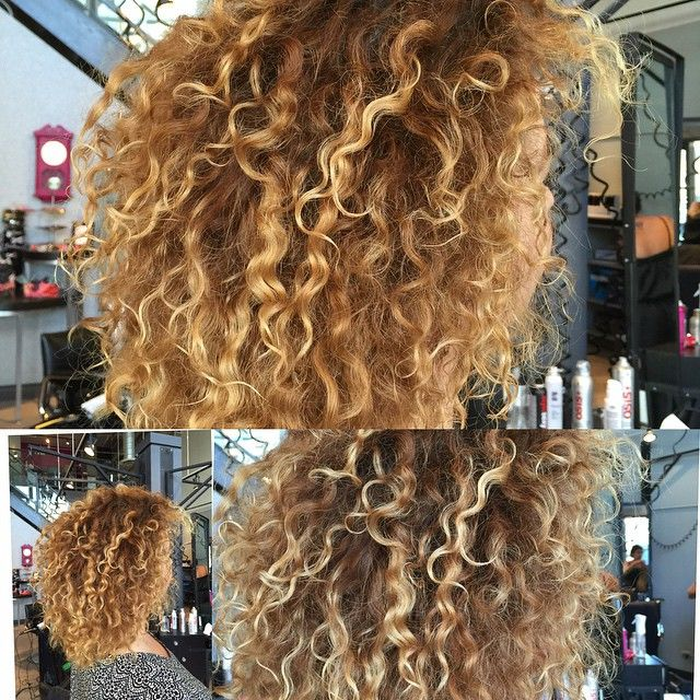 Perm perm perm she loves her curly hair! I spiral permed her hair with white rods n finished her hair with #olaplex #soonjoolee #permhair #modernhair #winnipegstylist #