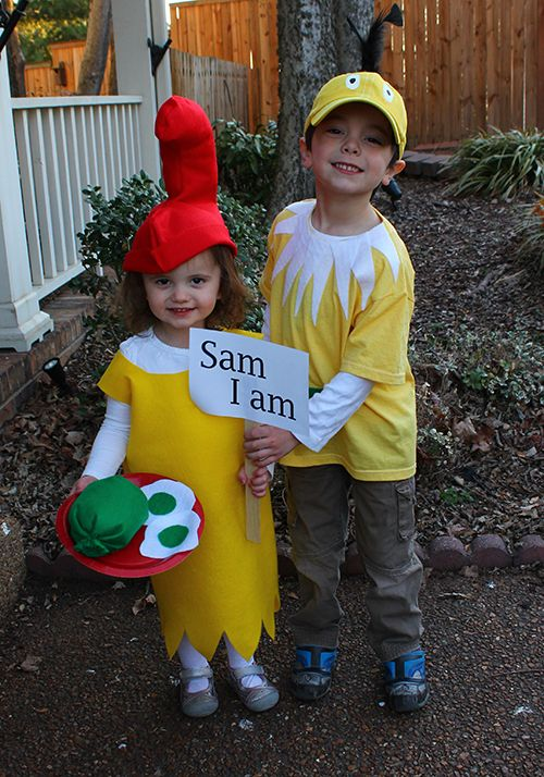 Dr. Seuss Costume tutorials for Sam I Am and Star Bellied Sneetch #halloween #DIY #costumes