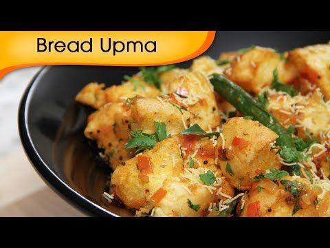 Bread Upma – Easy To Make Homemade Breakfast & Snacks Recipe By Ruchi Bharani – Viva Recipes
