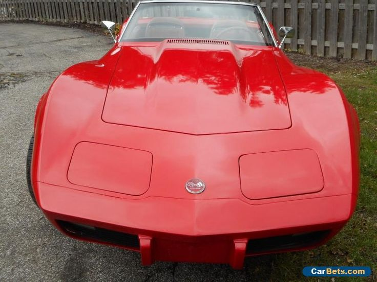 1975 Chevrolet Corvette Stingray Convertible 2-Door #chevrolet #corvette #forsale #unitedstates